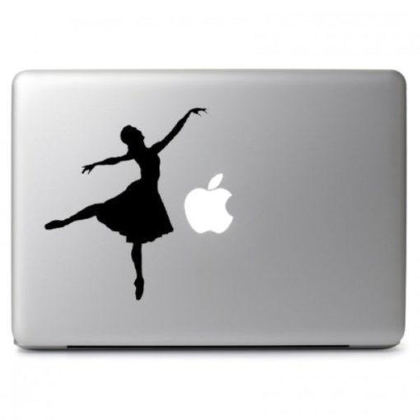 Dancer Ballerina Laptop Decal Sticker