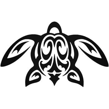 Honu Sea Turtle Vinyl Decal Sticker