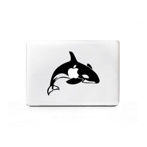 Killer Whale Laptop Decal Sticker