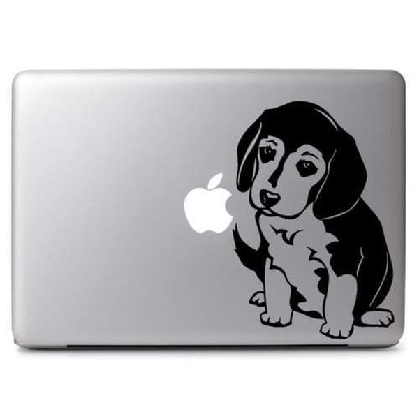 Beagle Puppy Dog – Decal Laptop Decals Stickers