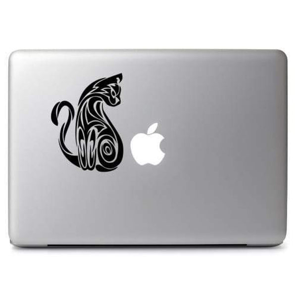 Cat Feline Tribal – Decal Laptop Decals Stickers