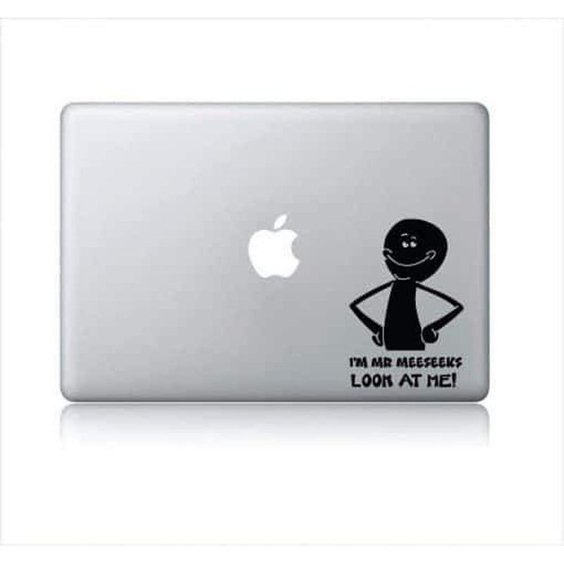 I'm Mr Meeseeks Look at me – Decal Laptop Decals Stickers
