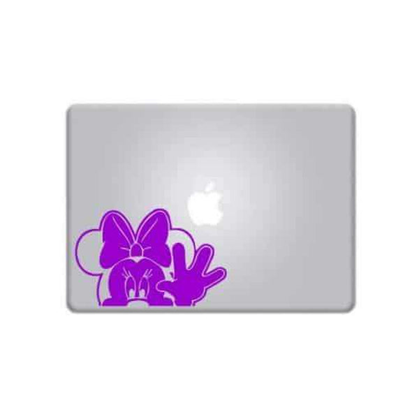 Minnie Mouse Waiving – Decal Laptop Decals Stickers