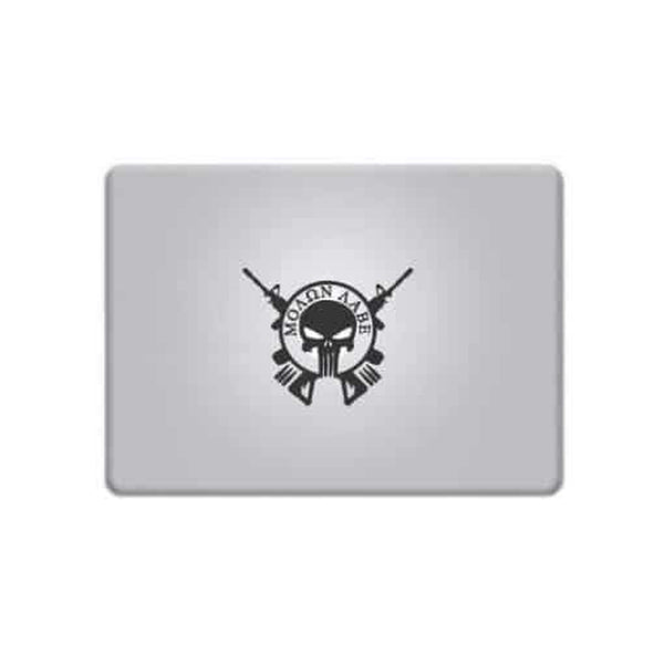 Molon Labe Come Take Them – Decal Laptop Decals Stickers