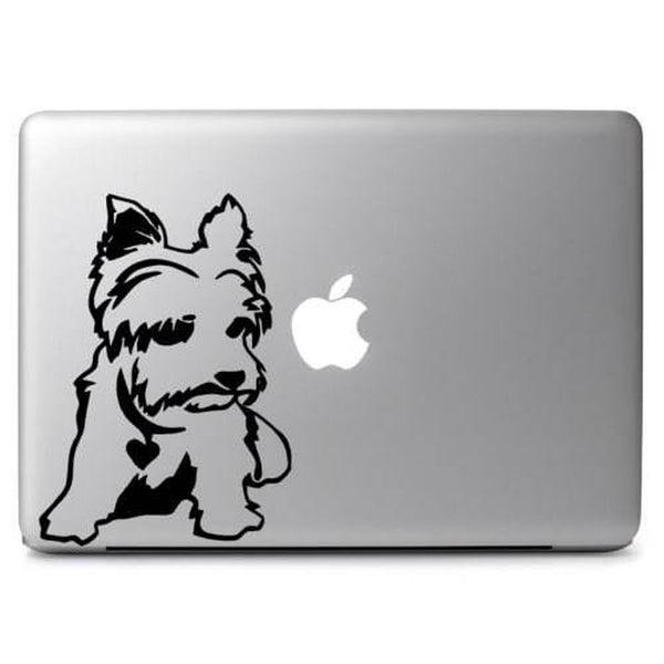 Yorkshire Terrier puppy – Decal Laptop Decals Stickers