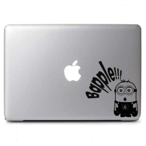 Minion Bapple Laptop Decal Sticker