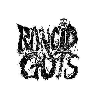 Rancid Guts Band Logo Vinyl Decal Sticker