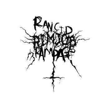Rancid Rimjob Rampage Band Logo Vinyl Decal Sticker