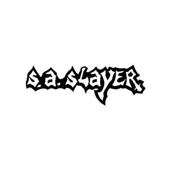 S.A. Slayer Band Logo Vinyl Decal Sticker