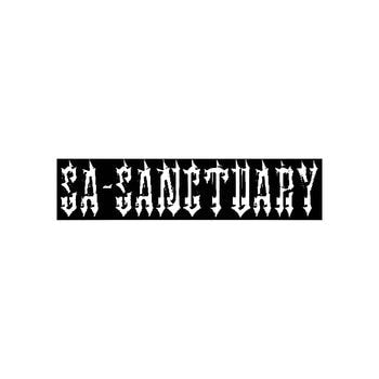 Sa Sanctuary Band Logo Vinyl Decal Sticker