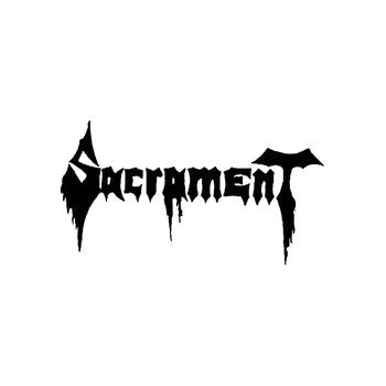 Sacrament_8 Band Logo Vinyl Decal Sticker