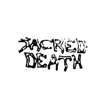 Sacred Death_2 Band Logo Vinyl Decal Sticker