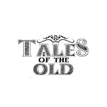Tales Of The Old Band Logo Vinyl Decal Sticker