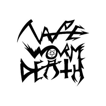 Tape Worm Death Band Logo Vinyl Decal Sticker