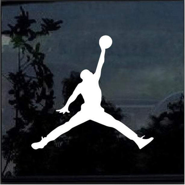 Air Jordan jumpman basketball car Window Decal Sticker