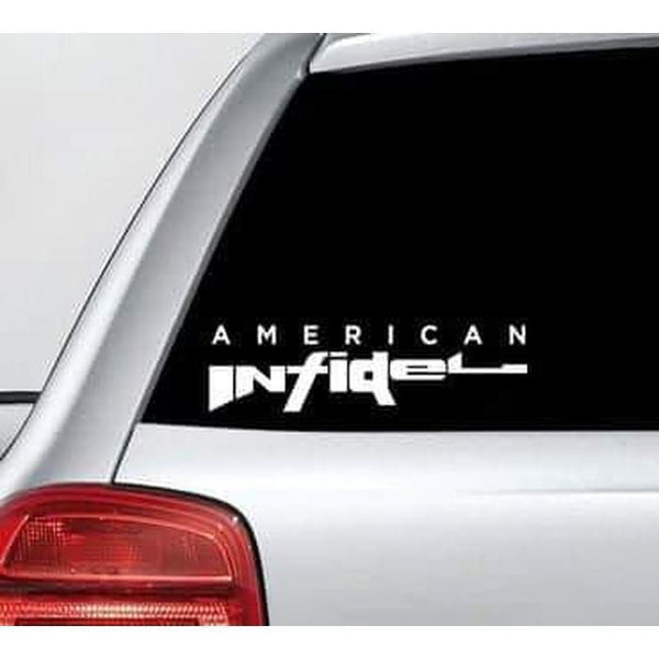 American Infidel – NRA Window Decal Sticker