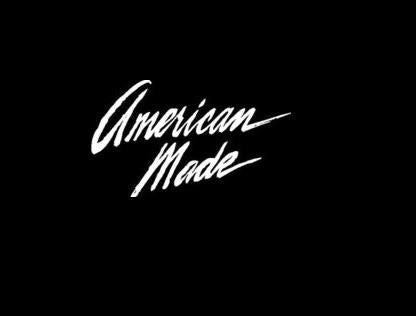 American Made Window Decal Sticker