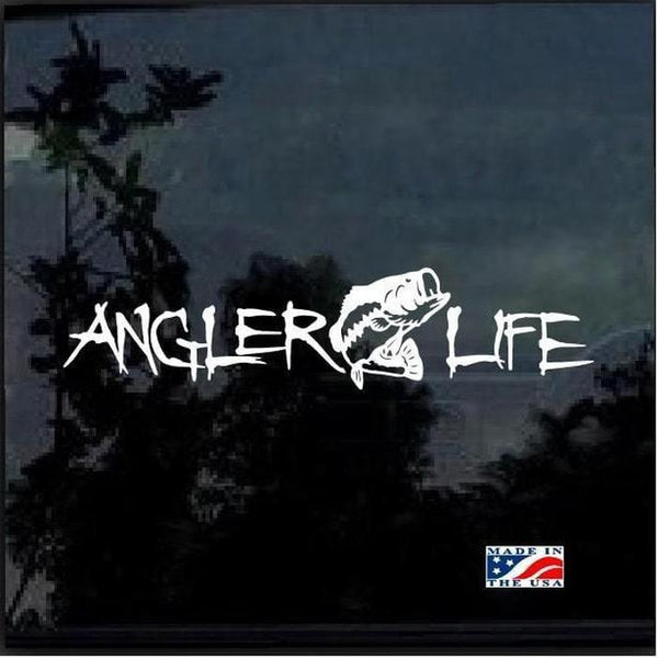 Angler Life Fishing Decal Stickers