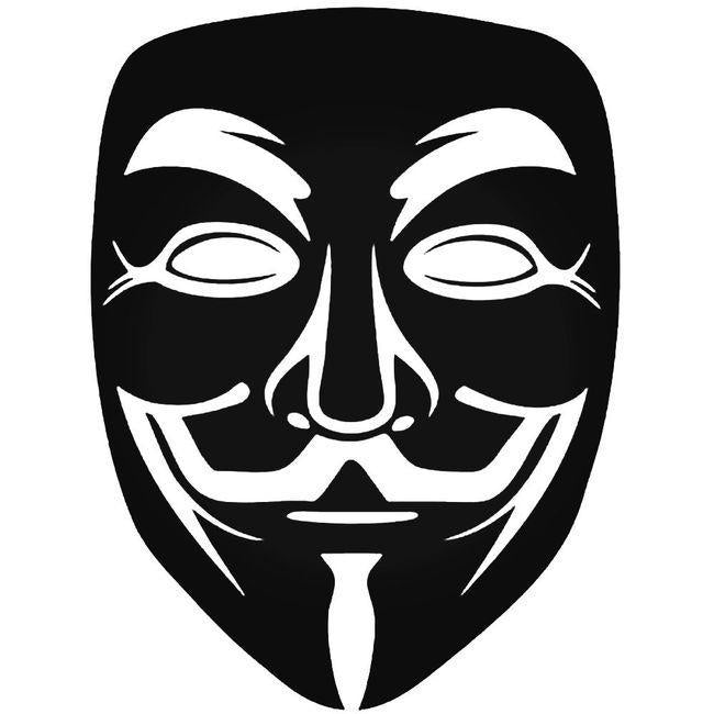Anonymous 3 Decal Sticker