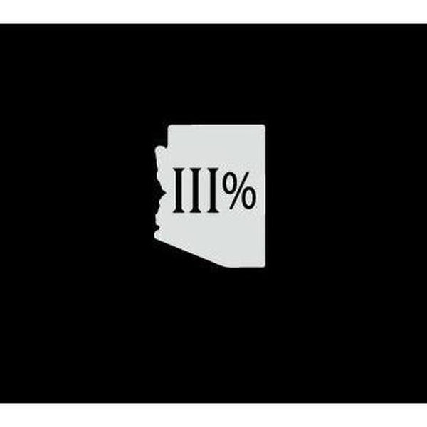 Arizona 3 percenter Truck Decal Sticker
