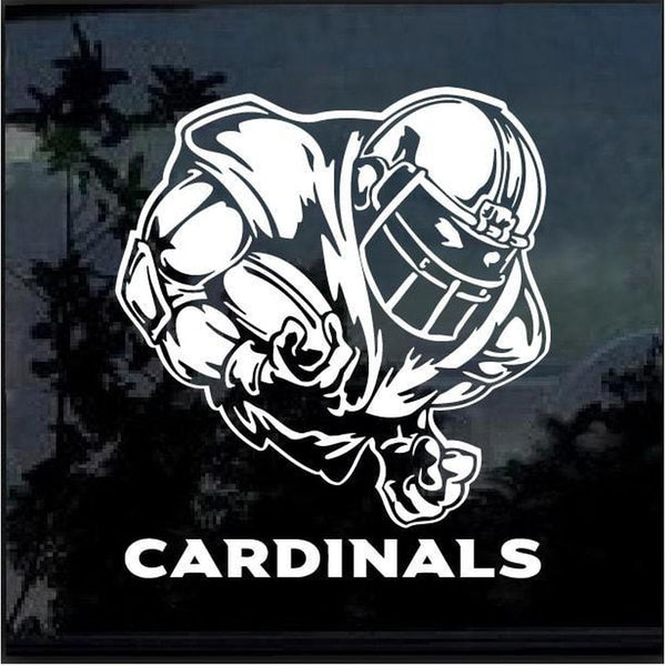 Arizona Cardinals Football player Window Decal Sticker