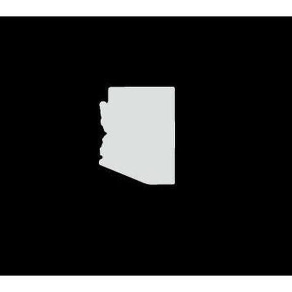 Arizona State Silhouette Truck Decal Sticker