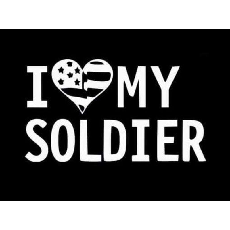 Army Love Soldier Military Window Decal Stickers