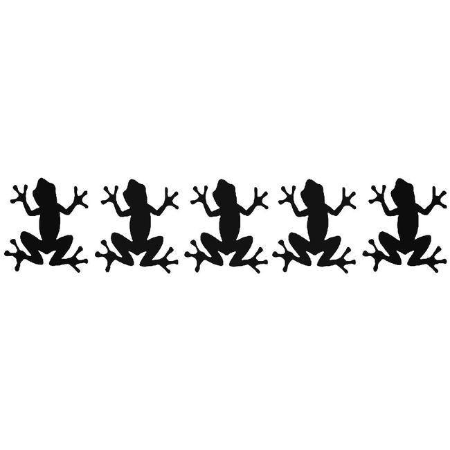 Army Of Frogs Decal Sticker