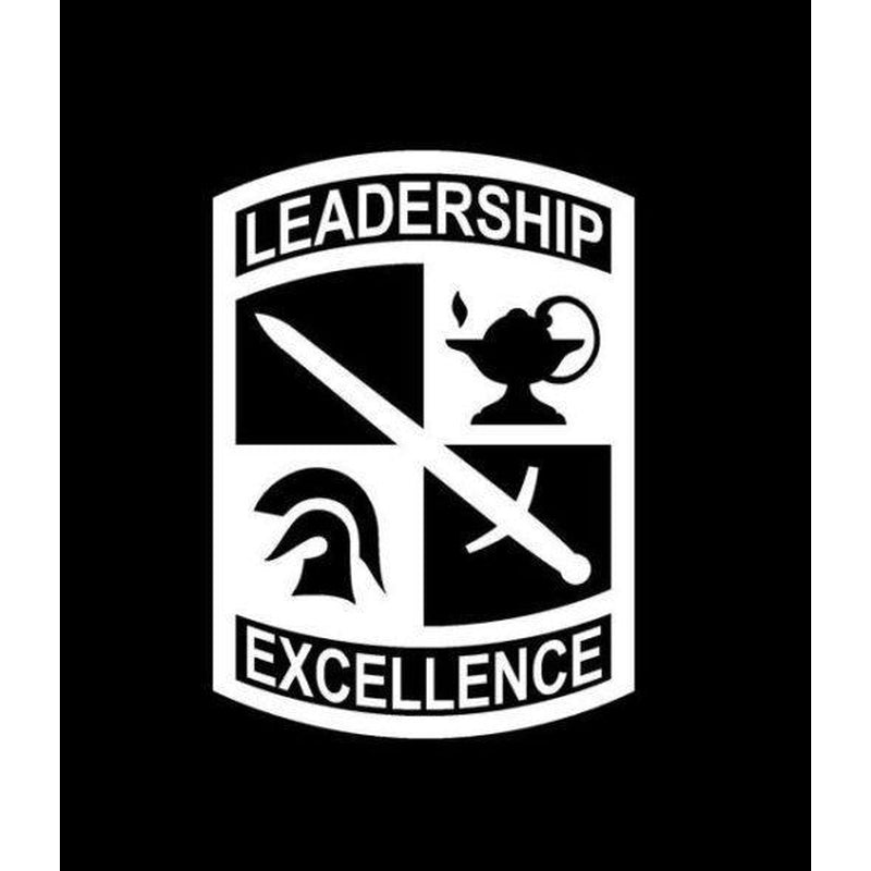 Army ROTC Leadership Excellence Military Window Decal Stickers