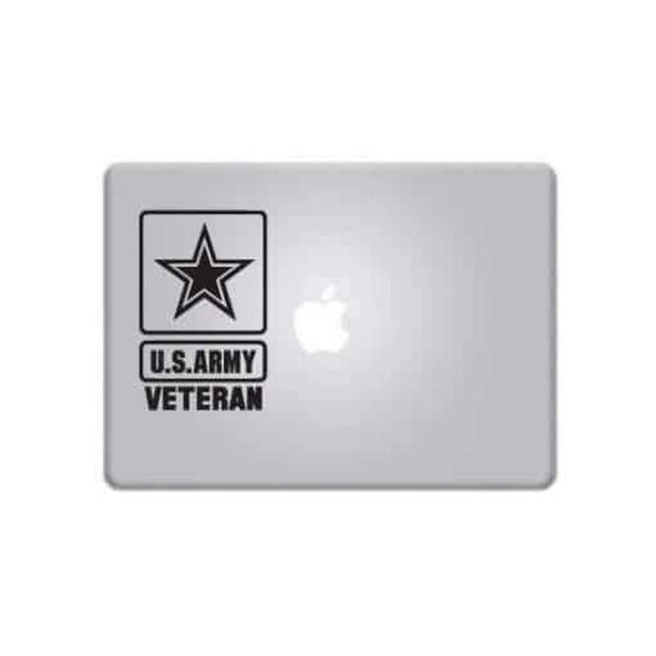 Army Veteran – Decal Laptop Decals Stickers