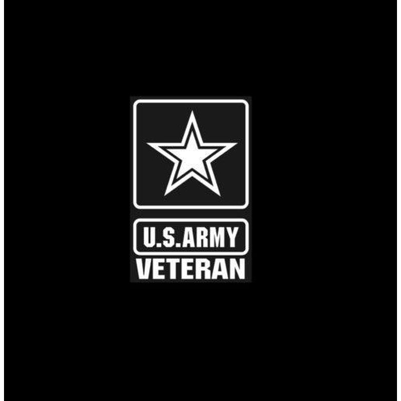 Army Veteran Military Window Decal Stickers