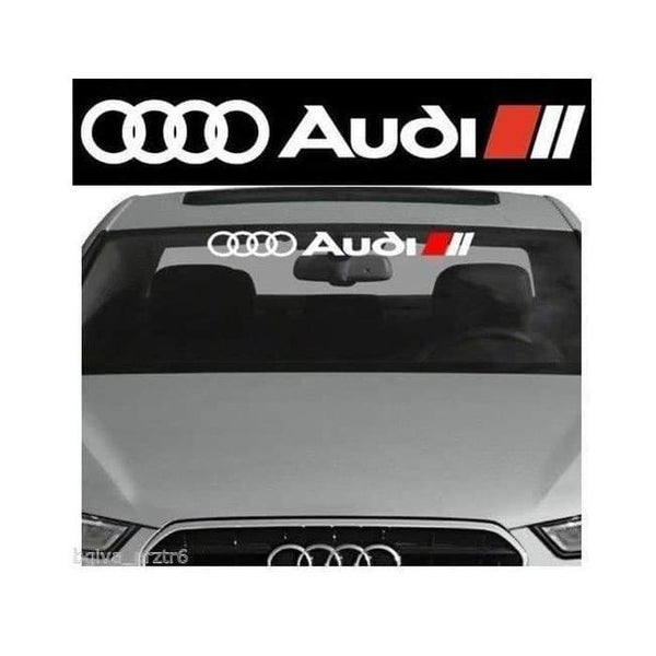 Audi Motor Sports Windshield Banner Decal Sticker