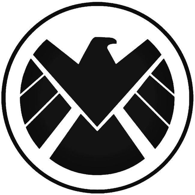 Avengers Agents Of Shield 3 Decal Sticker