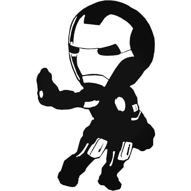 Avengers Cartoon Ironman Decal Sticker
