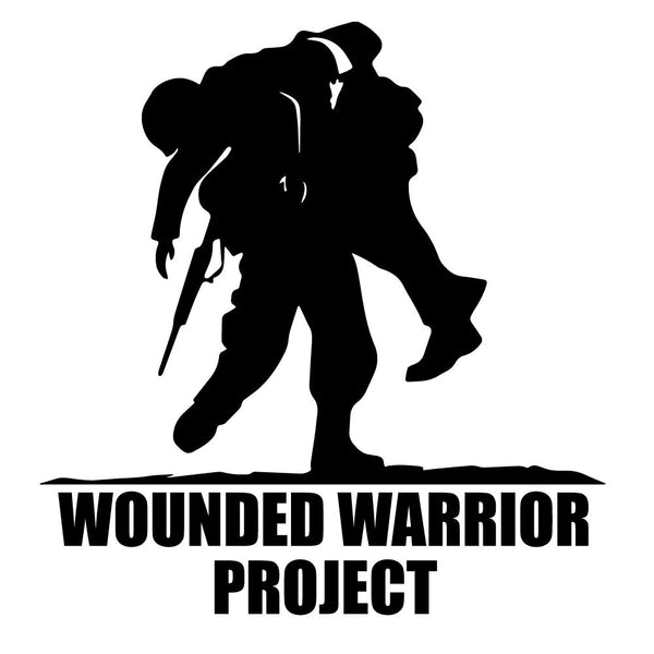 Wounded Warriors Project WWP War Awareness Decal Sticker