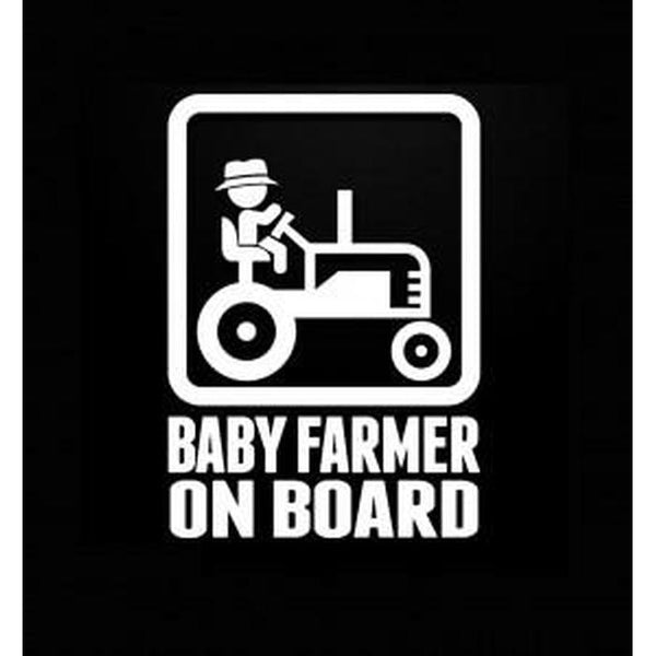 Baby Farmer – Baby on Board Sticker