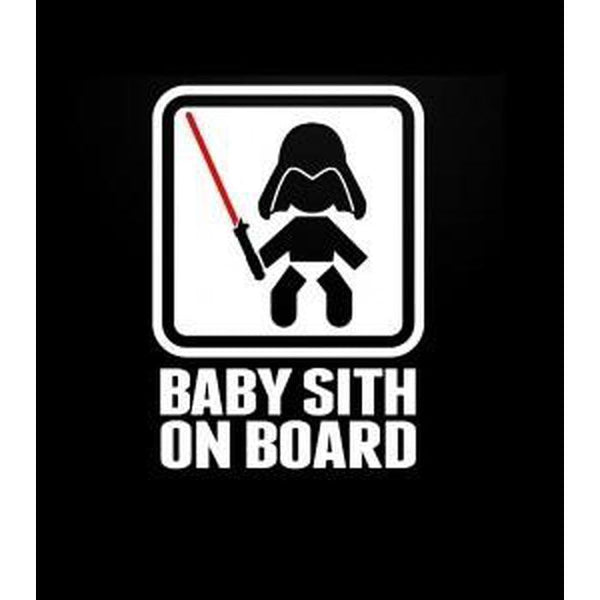 Baby Sith – Baby on Board Sticker