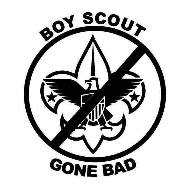 Bad Boy Scout Gone Bad Decal Sticker