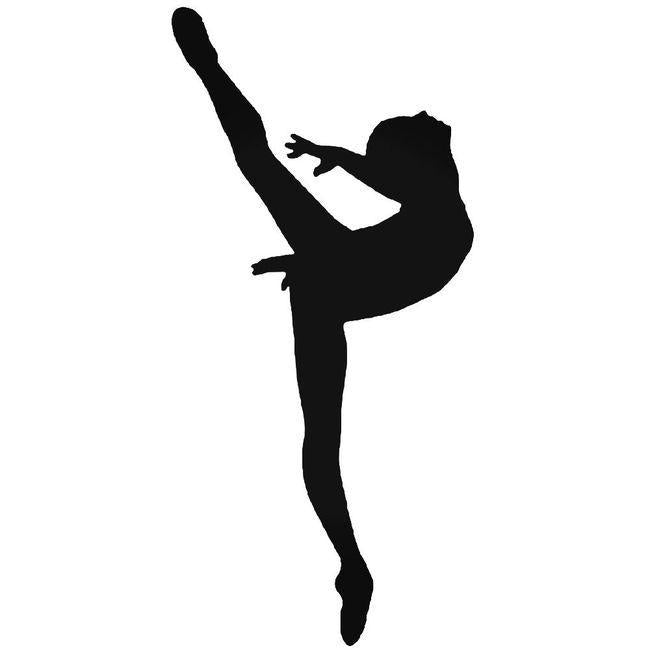 Ballet Dancer 1 Decal Sticker