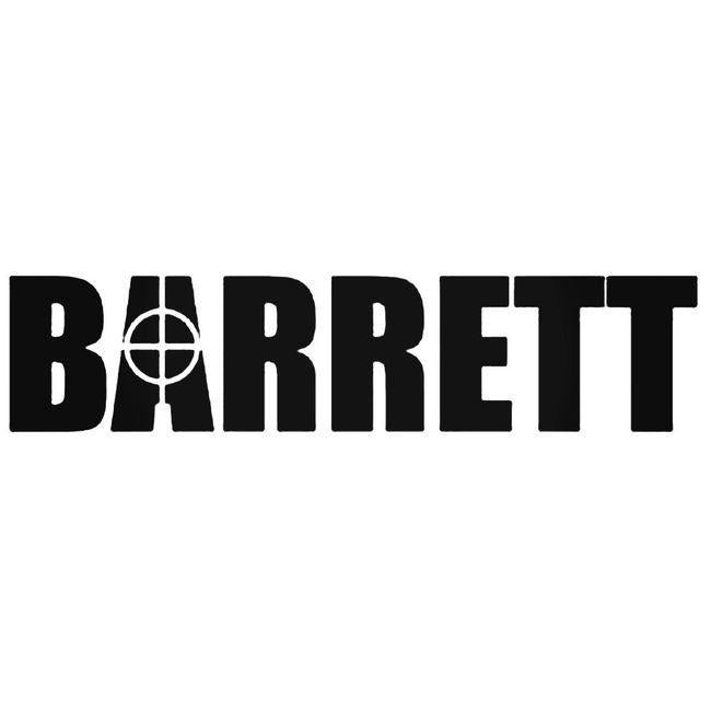 Barrett Decal Sticker