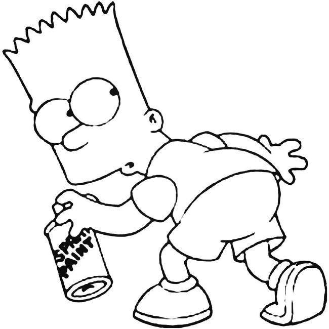 Bart Simpson Decal