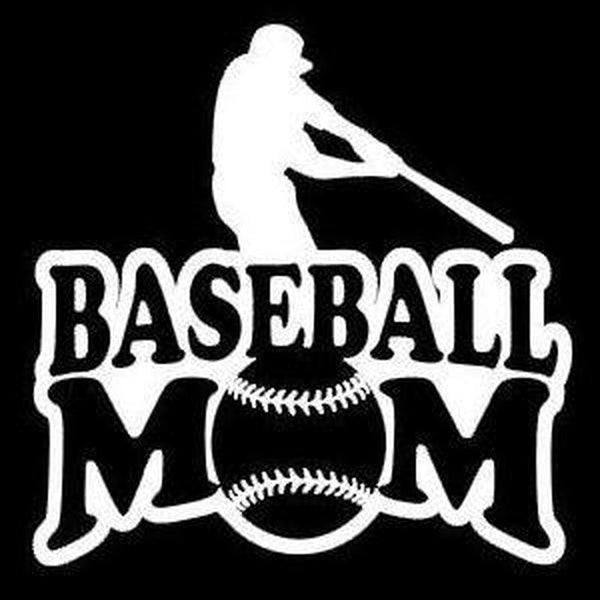 Baseball Mom Window Decal Sticker
