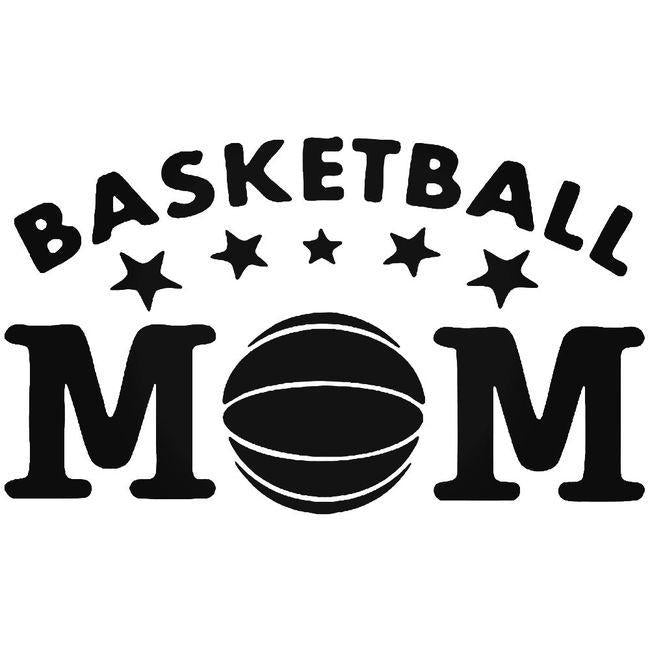 Basketball Mom Decal Sticker
