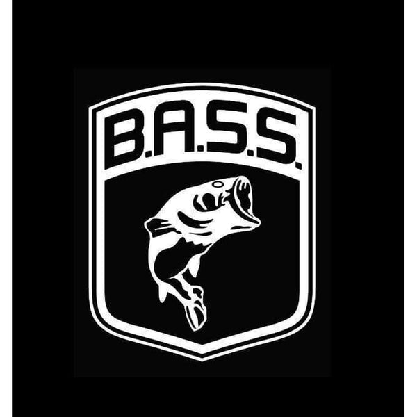 Bass Large Mouth Logo Hunting Window Decal Sticker