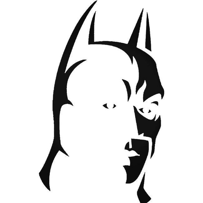 Batman 048 Decal Sticker