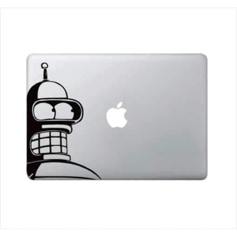 Bender Futurama – Decal Laptop Decals Stickers