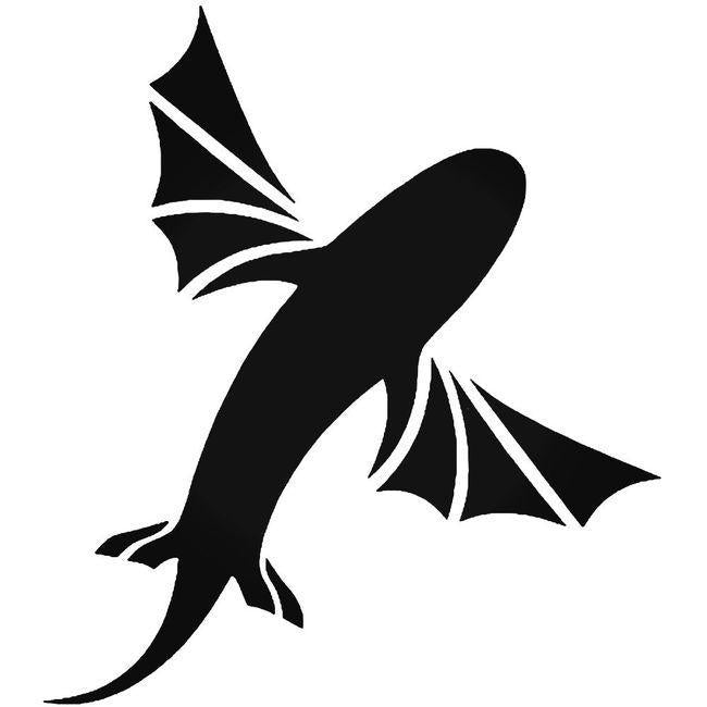 Best Kitesurfing Creature Surfing Decal Sticker