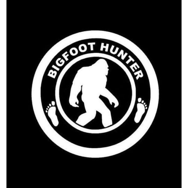 Bigfoot Sasquatch Hunter Decal – Bigfoot stickers