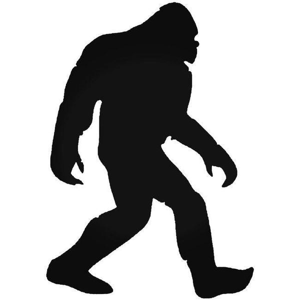Bigfoot Sighting Decal Sticker
