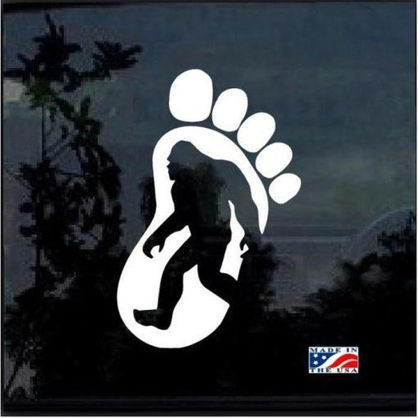 Bigfoot Silhouette Sticker – Bigfoot stickers